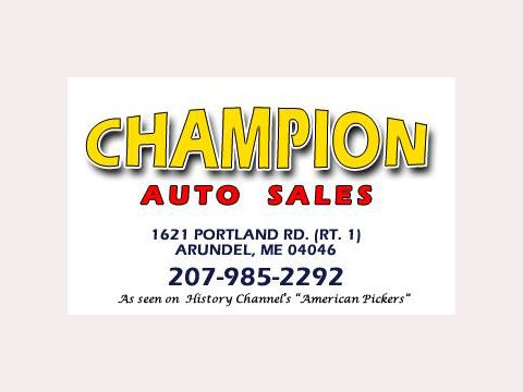 Champion Auto Sales