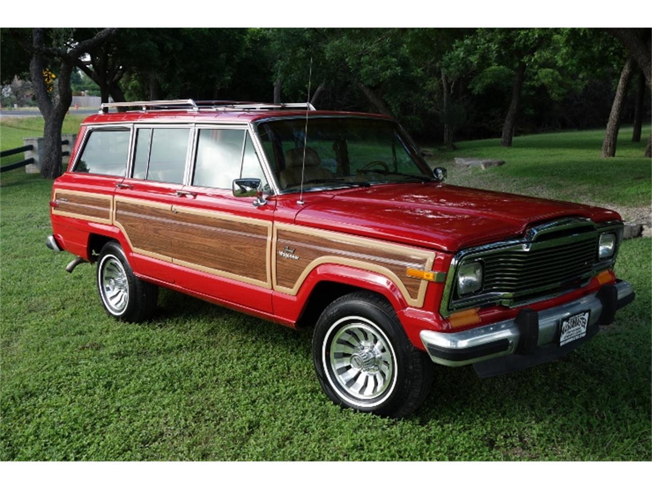 Jeep Wagoneer For Sale >> 1985 Jeep Wagoneer For Sale Classiccars Com Cc 1001395