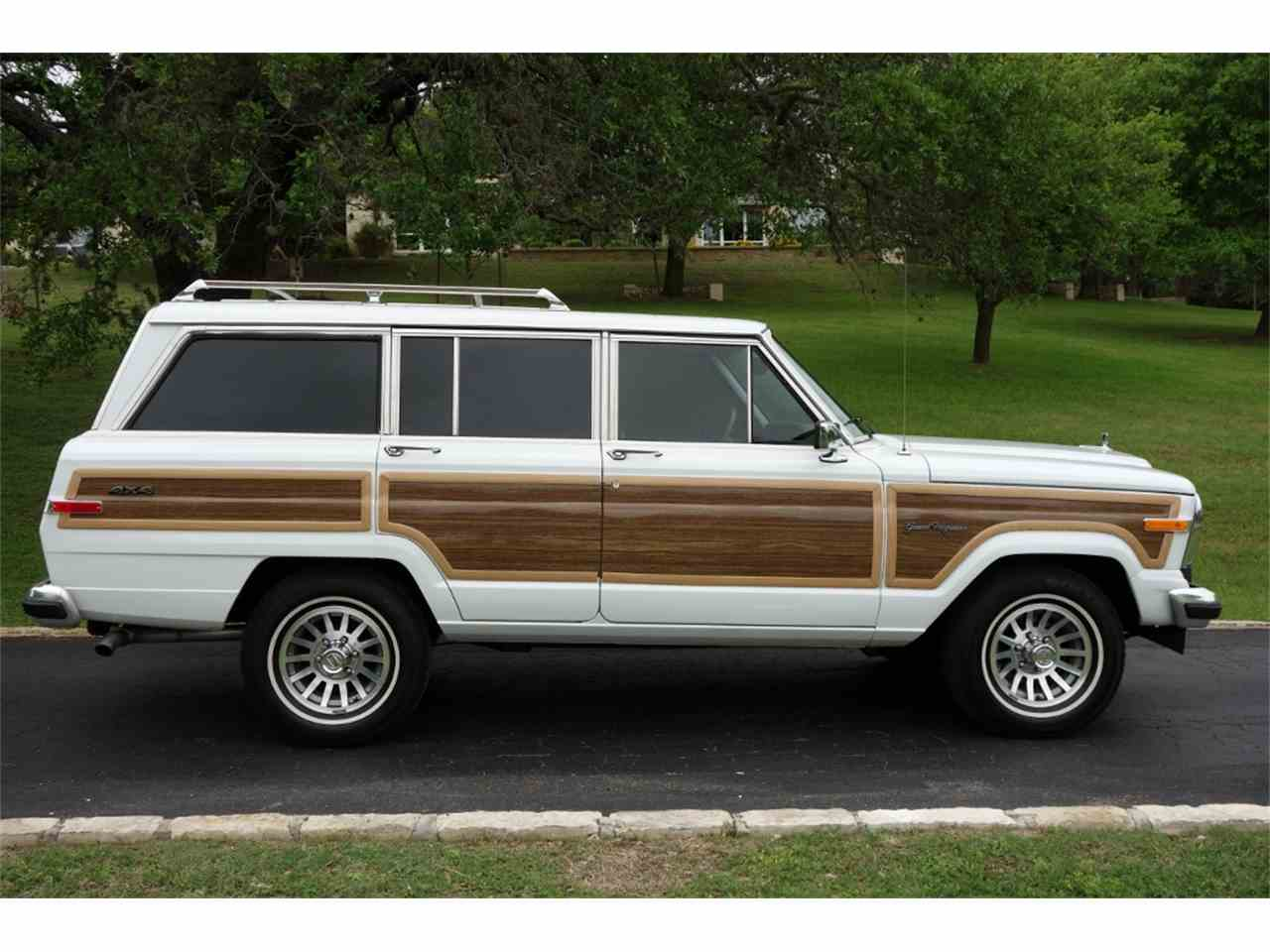 1989 jeep wagoneer for sale cc 1001396. Black Bedroom Furniture Sets. Home Design Ideas