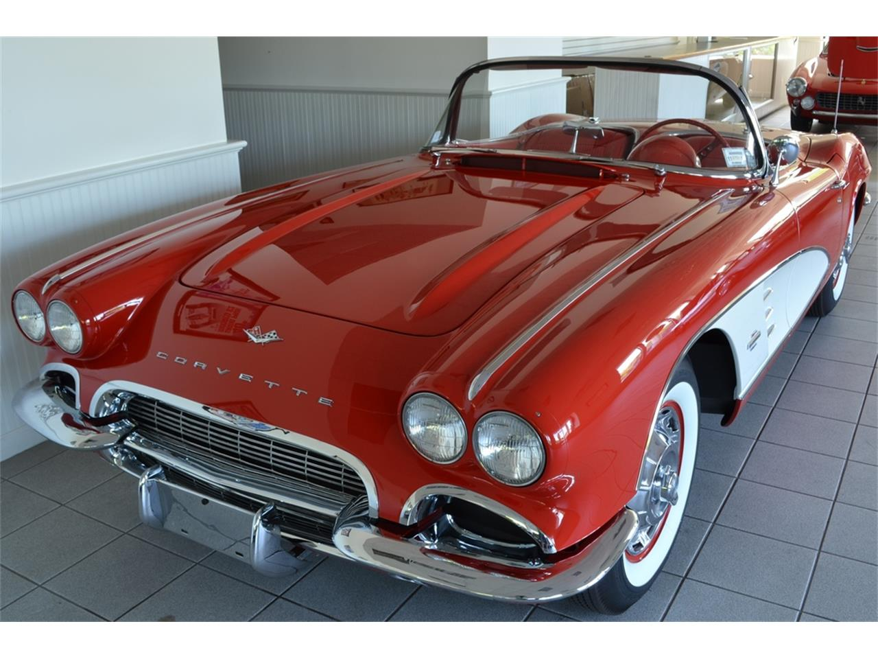 Large Picture of 1961 Corvette located in Southampton New York Offered by Aventura Motors - LGP0