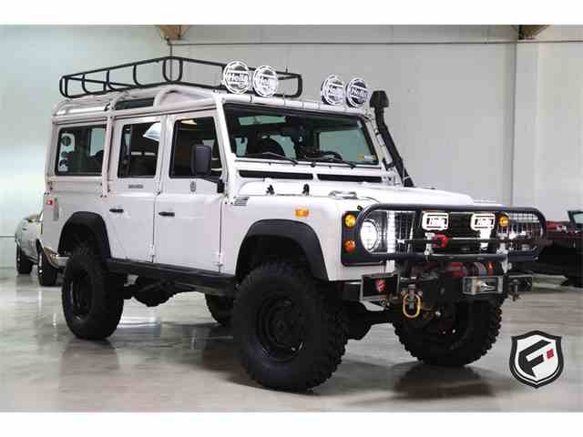 1993 land rover defender for sale cc. Black Bedroom Furniture Sets. Home Design Ideas