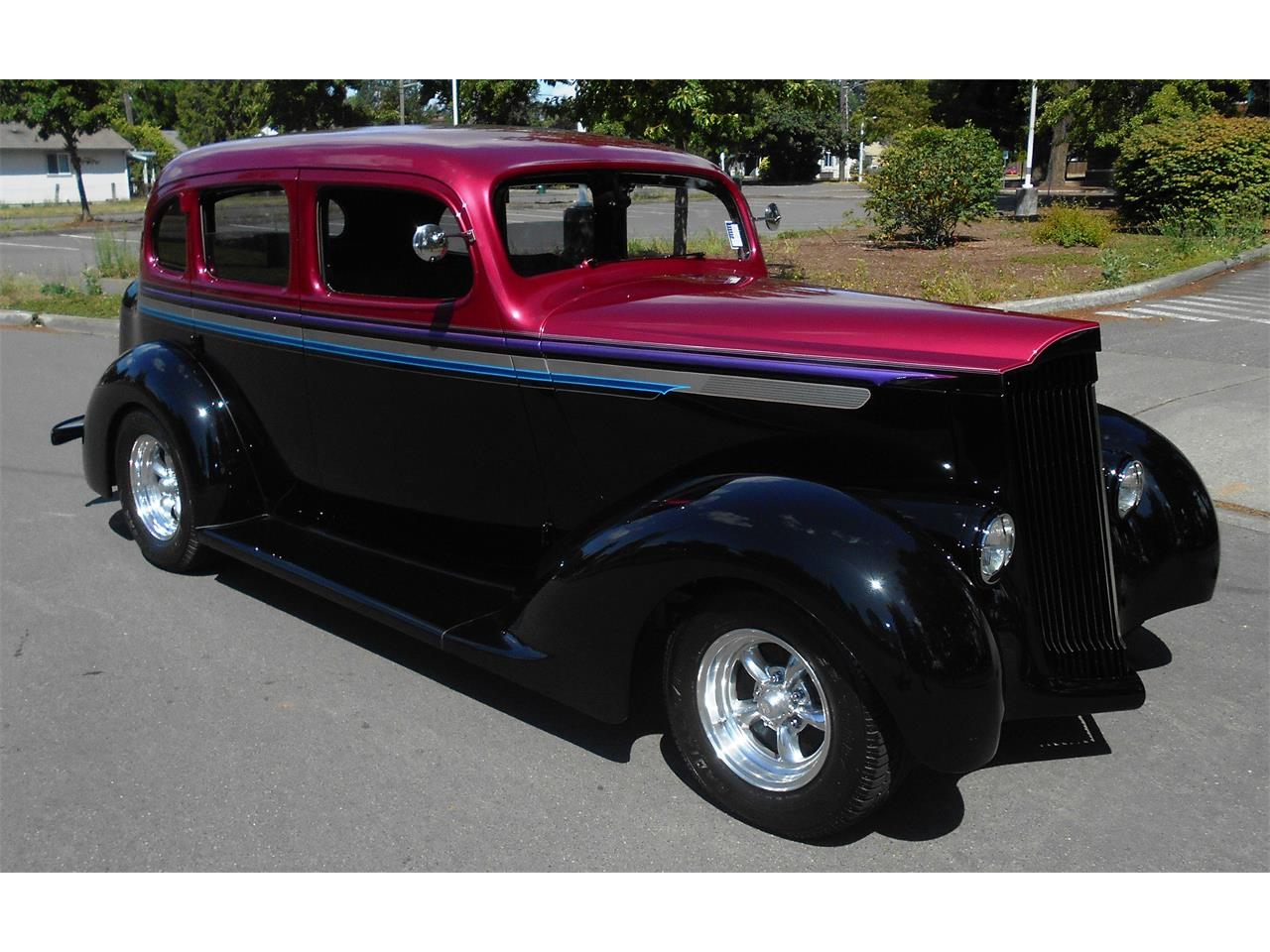Large Picture of Classic '37 Custom 4dr Sedan located in Washington - $32,950.00 Offered by Austin's Pro Max - LGZ2