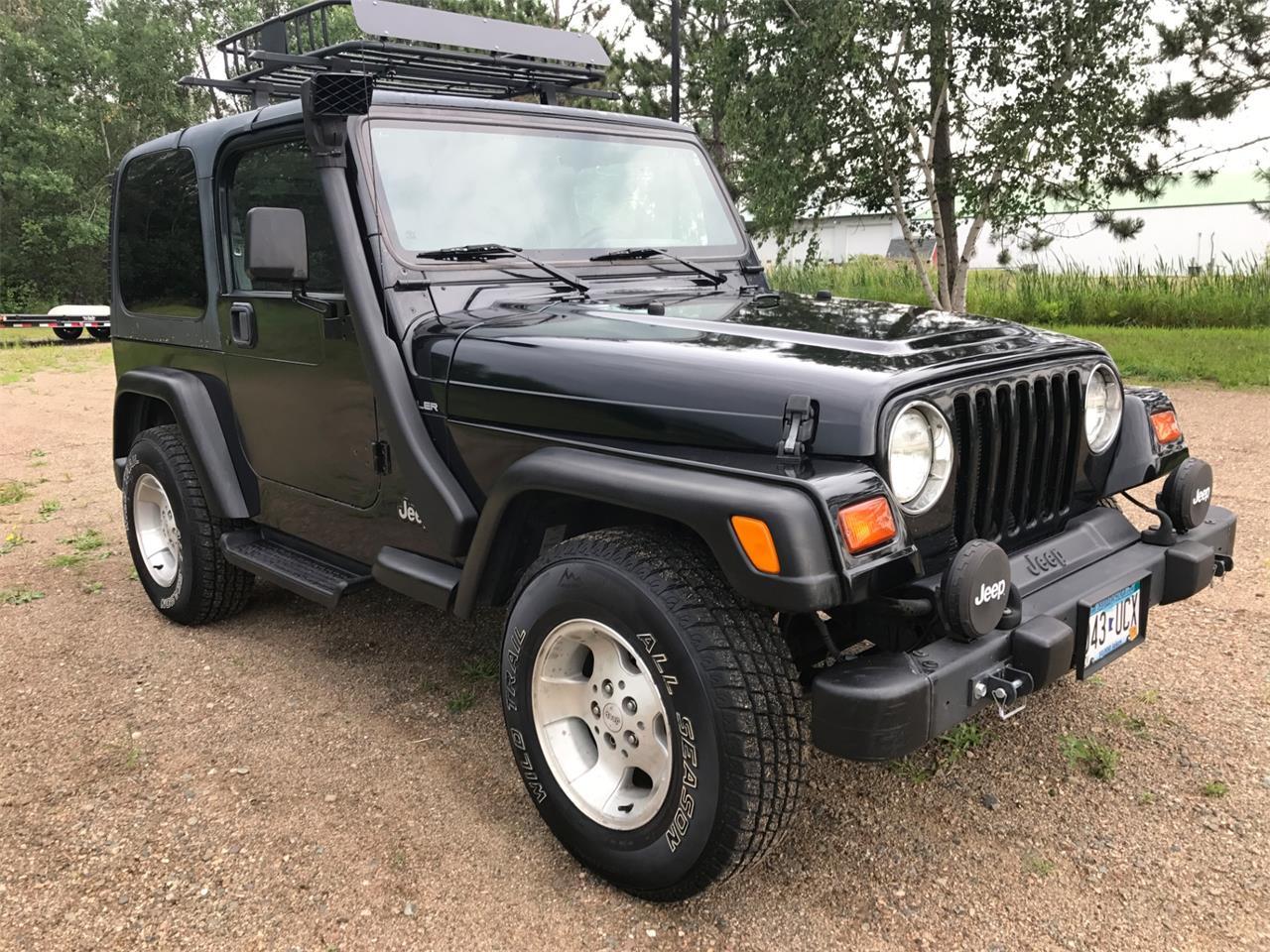 1999 Jeep Wrangler For Sale >> 1999 Jeep Wrangler For Sale Classiccars Com Cc 1001828