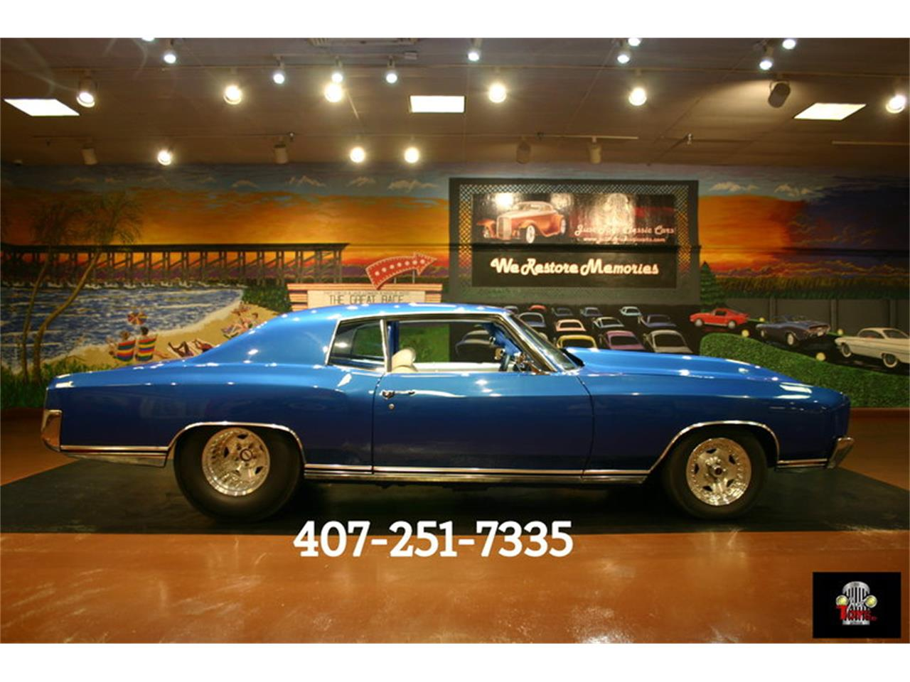 Large Picture of Classic 1970 Monte Carlo SS located in Orlando Florida - LH47