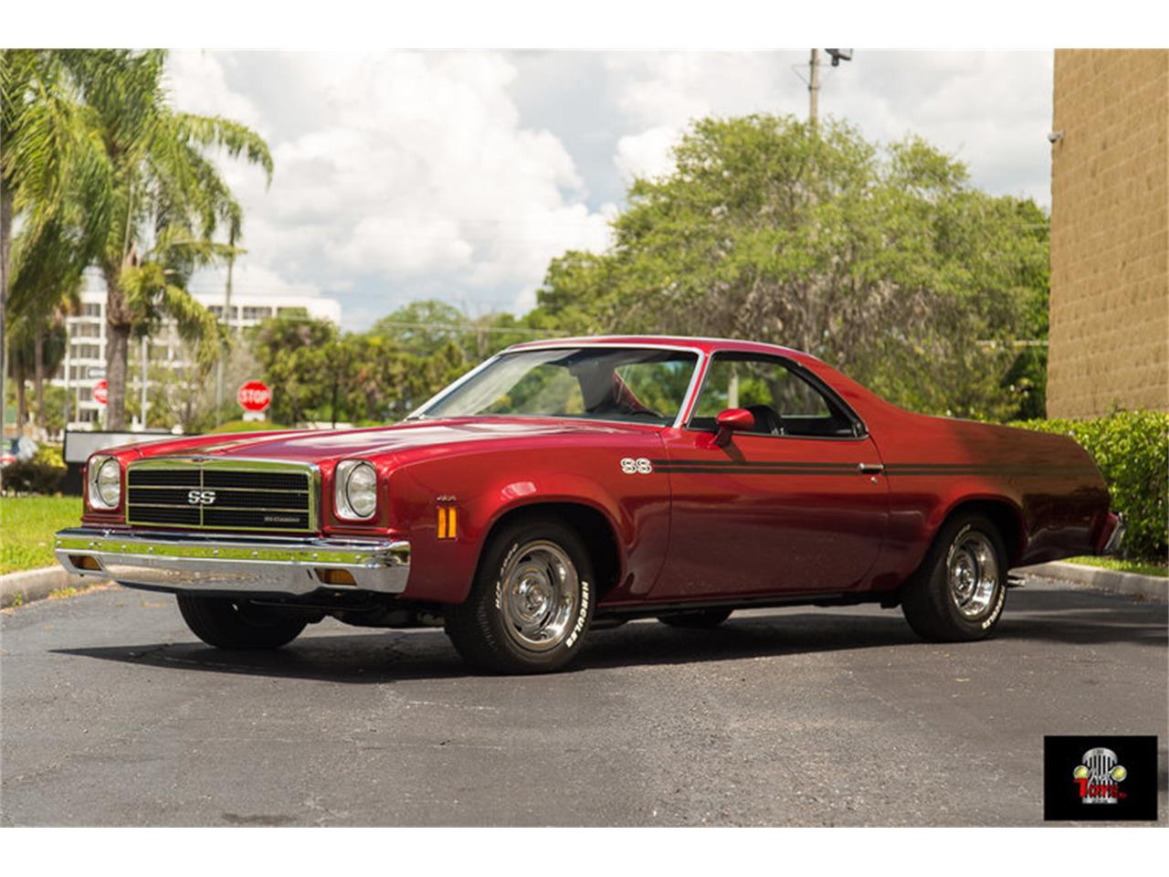 Large Picture of 1974 El Camino SS located in Orlando Florida Offered by Just Toys Classic Cars - LHC8