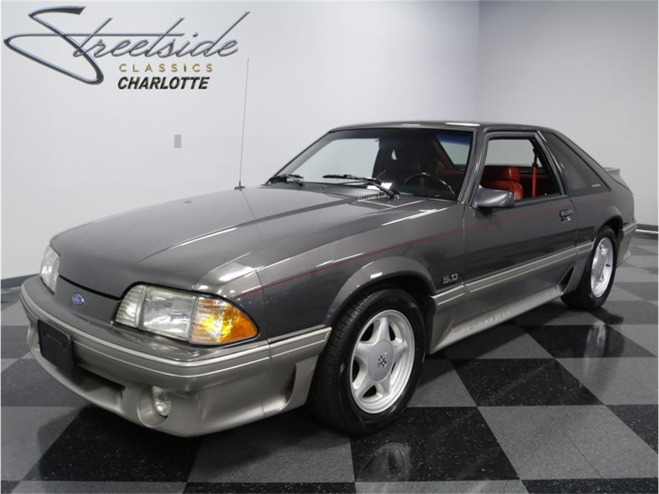 91 Mustang Gt >> For Sale 1991 Ford Mustang Gt In Concord North Carolina