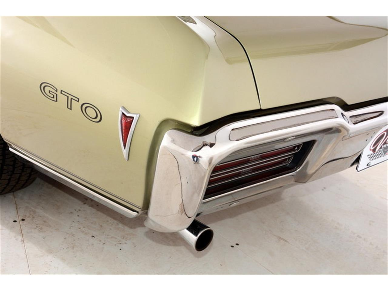 Large Picture of Classic 1968 Pontiac GTO located in Volo Illinois - LHHG