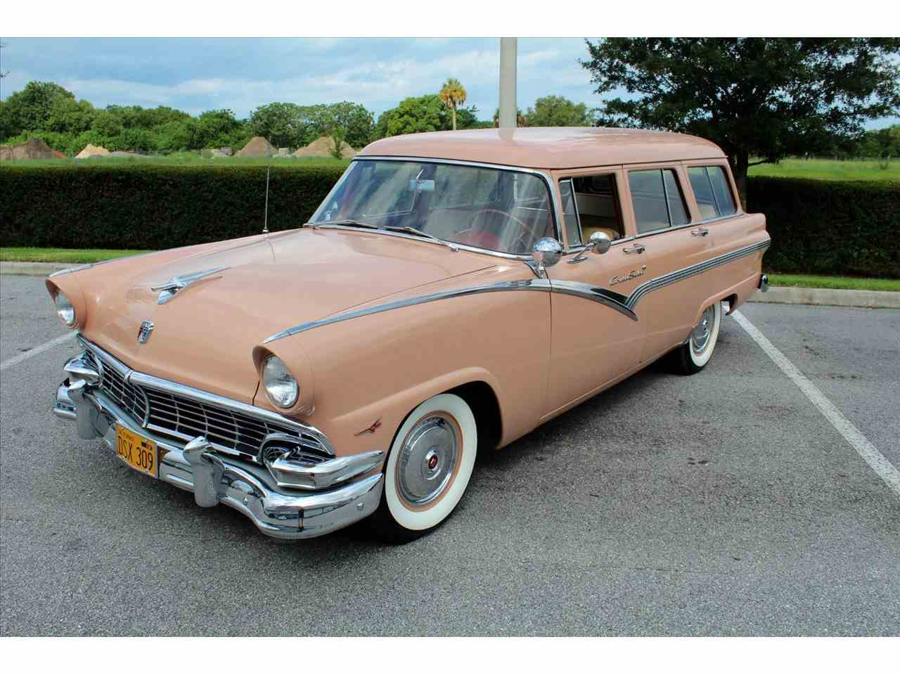 Large Picture of 1956 Ford Station Wagon located in Florida Offered by Classic Cars of Sarasota - LHIN