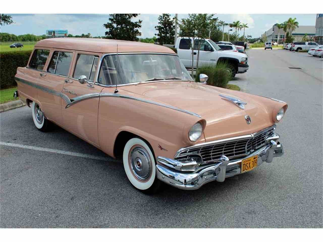 Large Picture of Classic '56 Station Wagon located in Sarasota Florida - $39,900.00 Offered by Classic Cars of Sarasota - LHIN