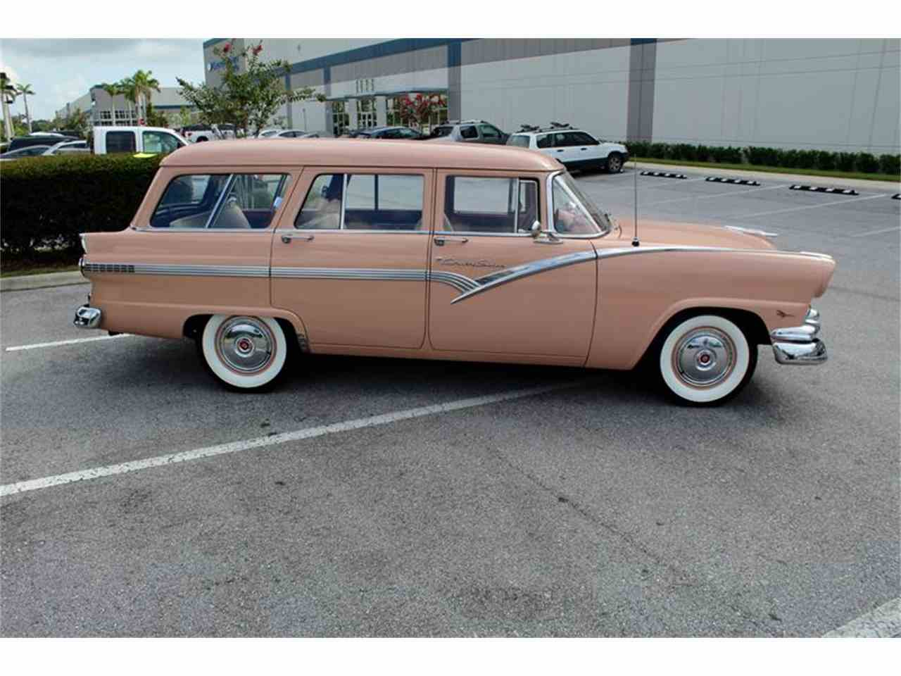 Large Picture of Classic 1956 Ford Station Wagon located in Sarasota Florida - $39,900.00 Offered by Classic Cars of Sarasota - LHIN