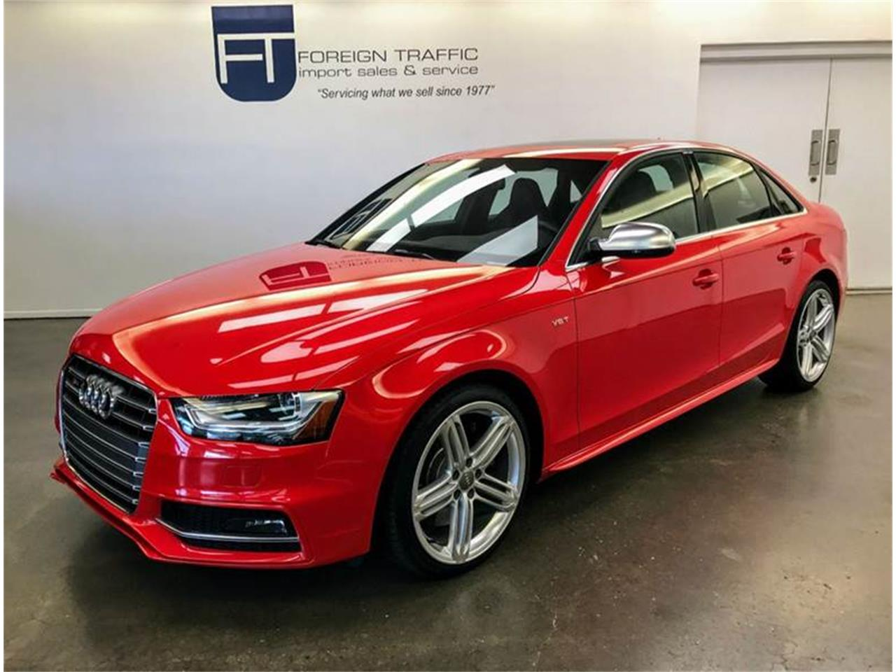 Large Picture of '16 Audi S4 Offered by Foreign Traffic Import Sales & Service - LHL3