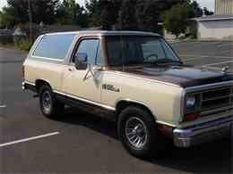 Picture of 1986 Dodge Ramcharger Offered by a Private Seller - LHRU