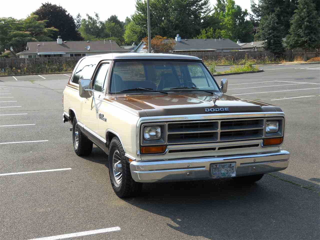 Large Picture of 1986 Ramcharger located in Oregon - $5,500.00 - LHRU