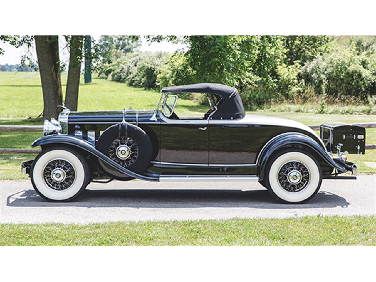 1931 cadillac v 8 roadster by fleetwood for sale cc 1002821. Black Bedroom Furniture Sets. Home Design Ideas