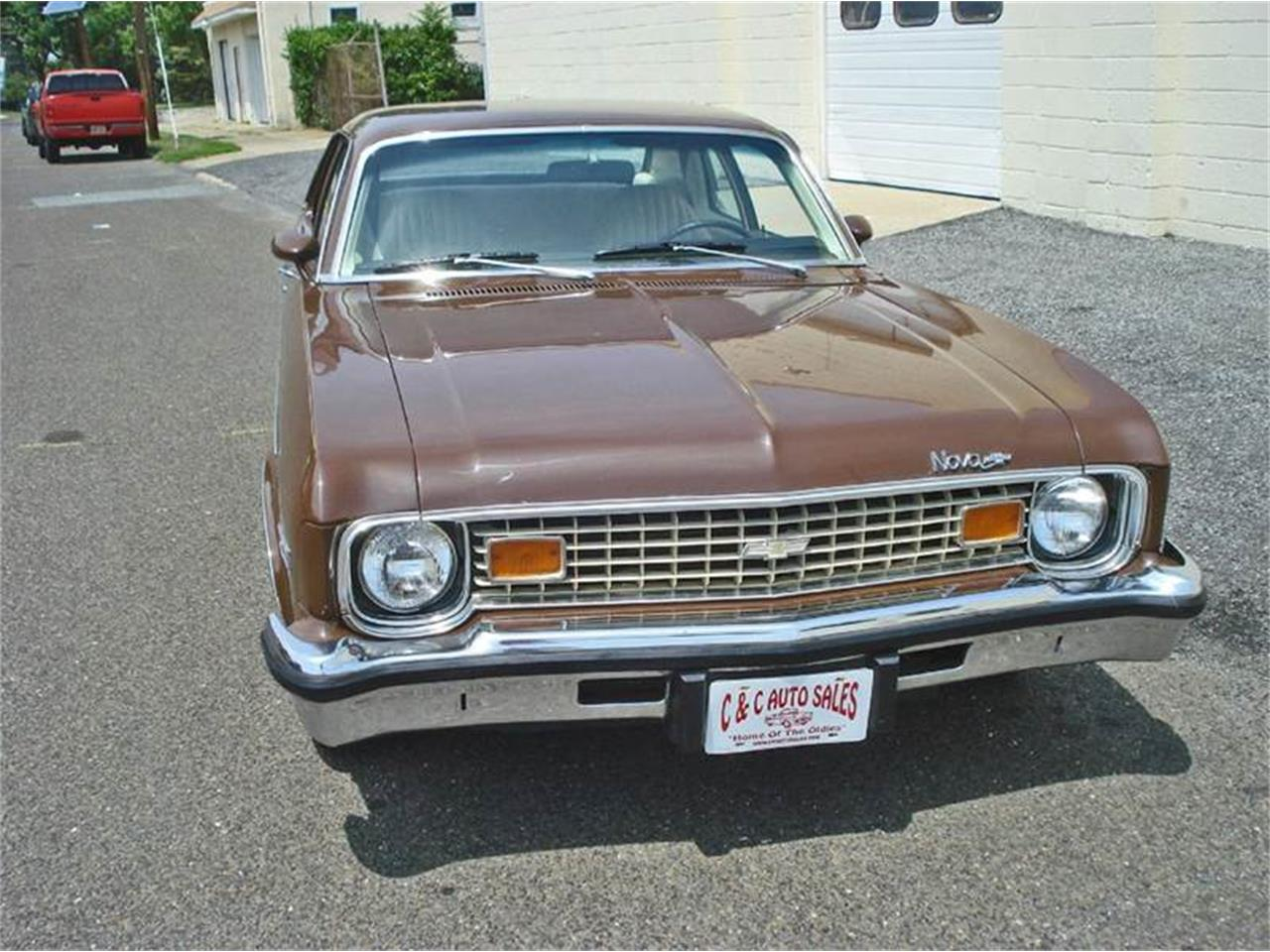 Large Picture of Classic 1973 Nova located in Riverside New Jersey - LHTJ