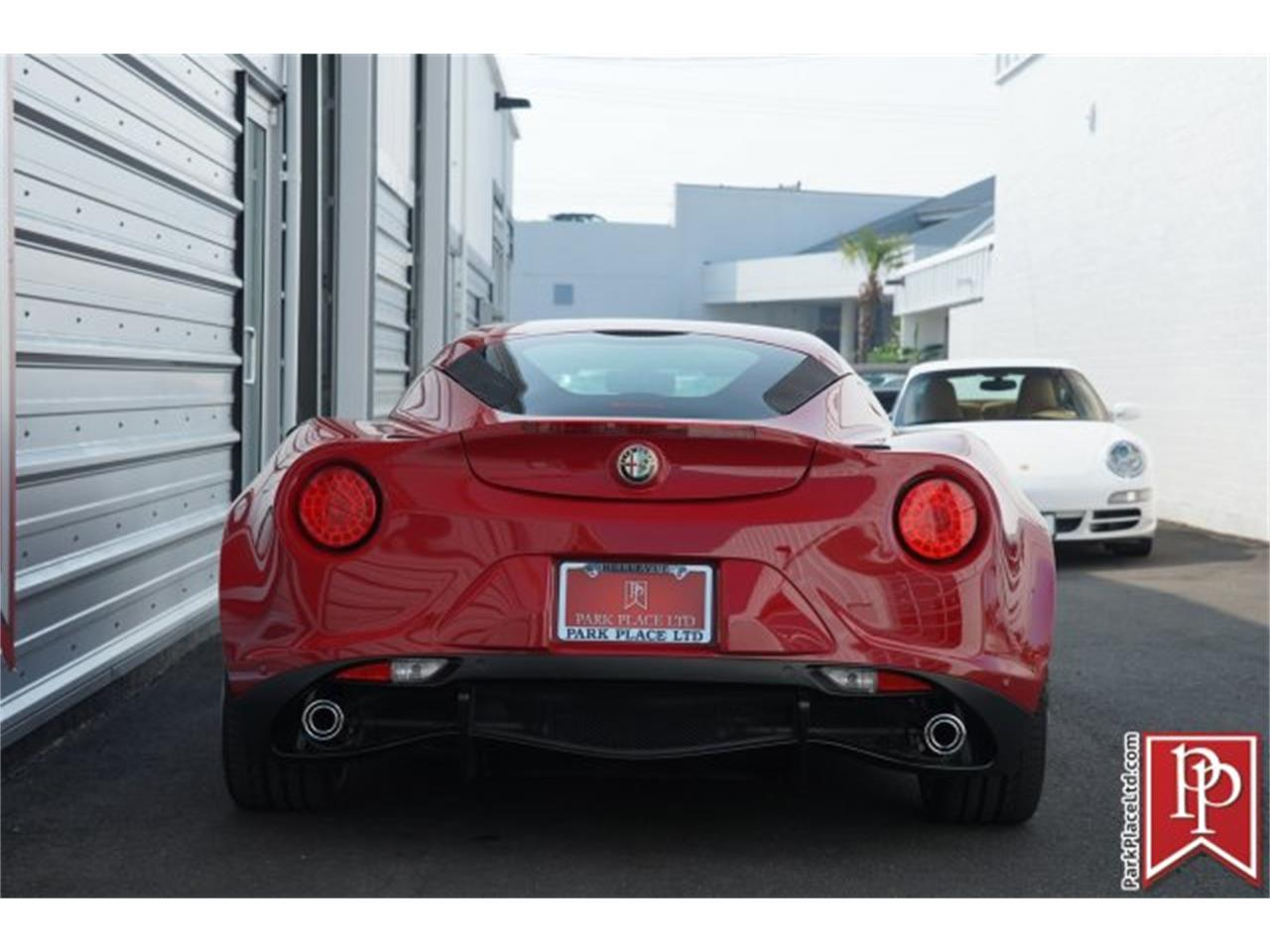 Large Picture of 2015 Alfa Romeo 4C Offered by Park Place Ltd - LHU7