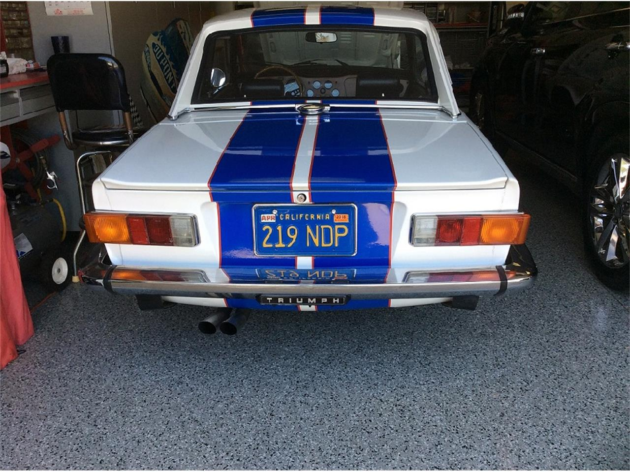 Large Picture of '74 TR6 - LHV2