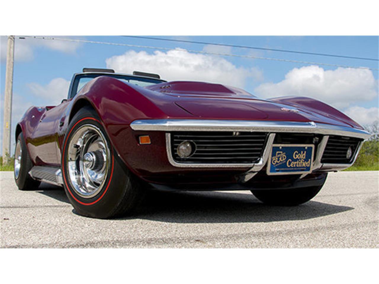 Large Picture of Classic '69 Chevrolet Corvette Auction Vehicle - LHVA