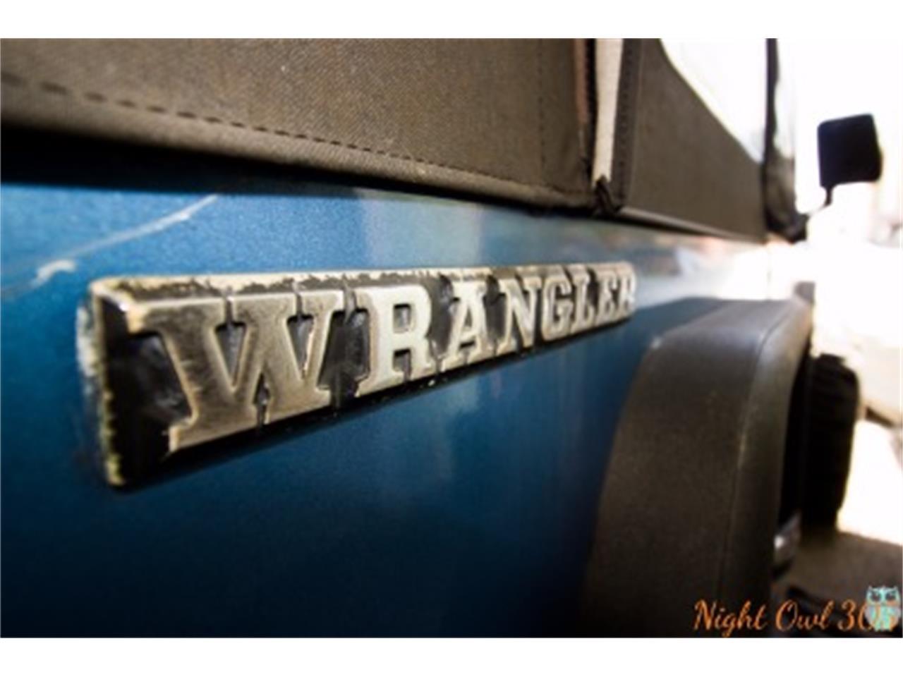 Large Picture of '85 Wrangler - LI3U