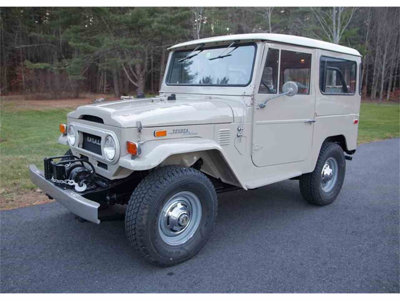 Large Picture of '72 Land Cruiser FJ located in Vermont - $52,500.00 - LI7I