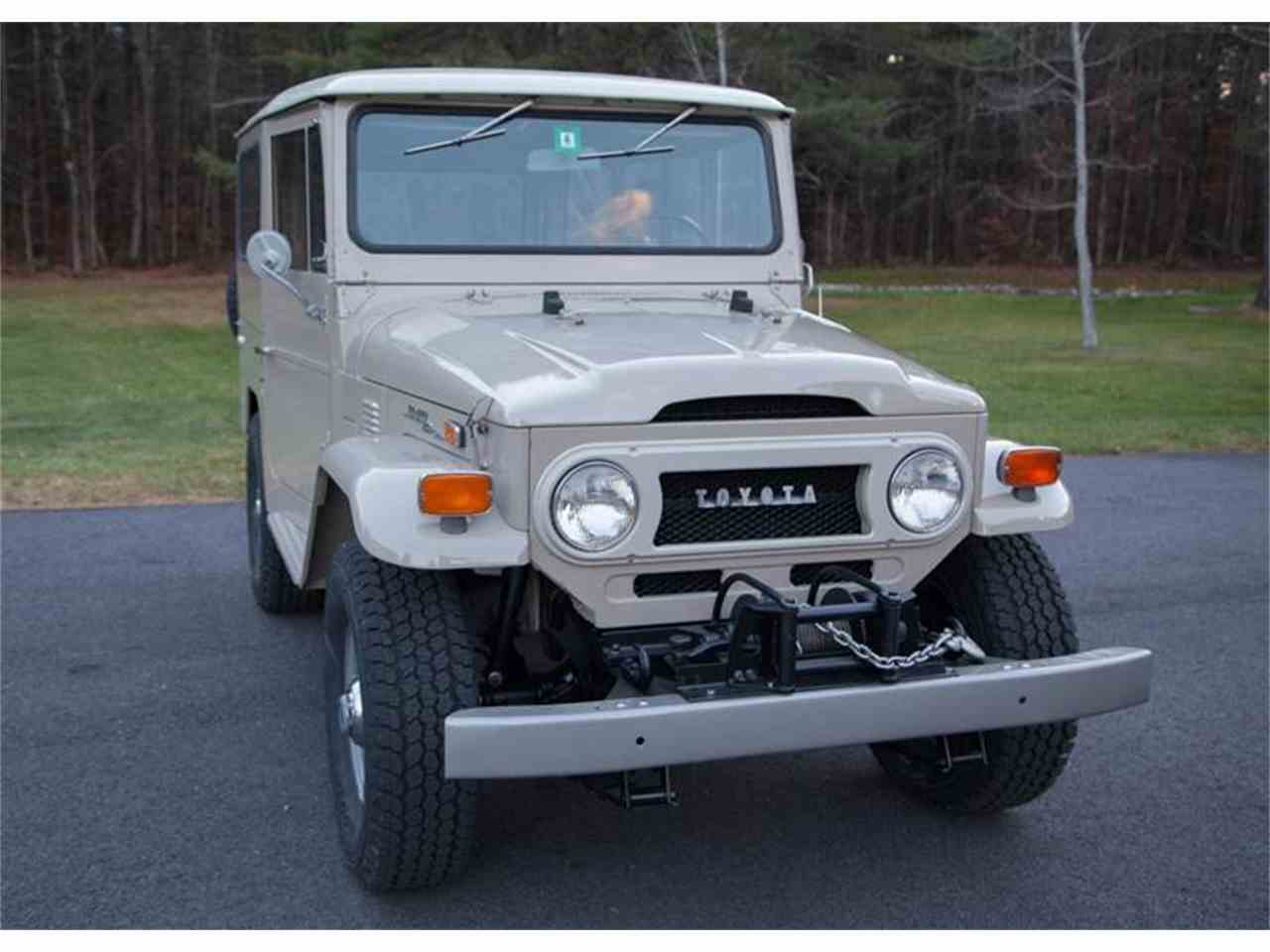 Large Picture of '72 Toyota Land Cruiser FJ located in Essex Junction Vermont - $52,500.00 - LI7I