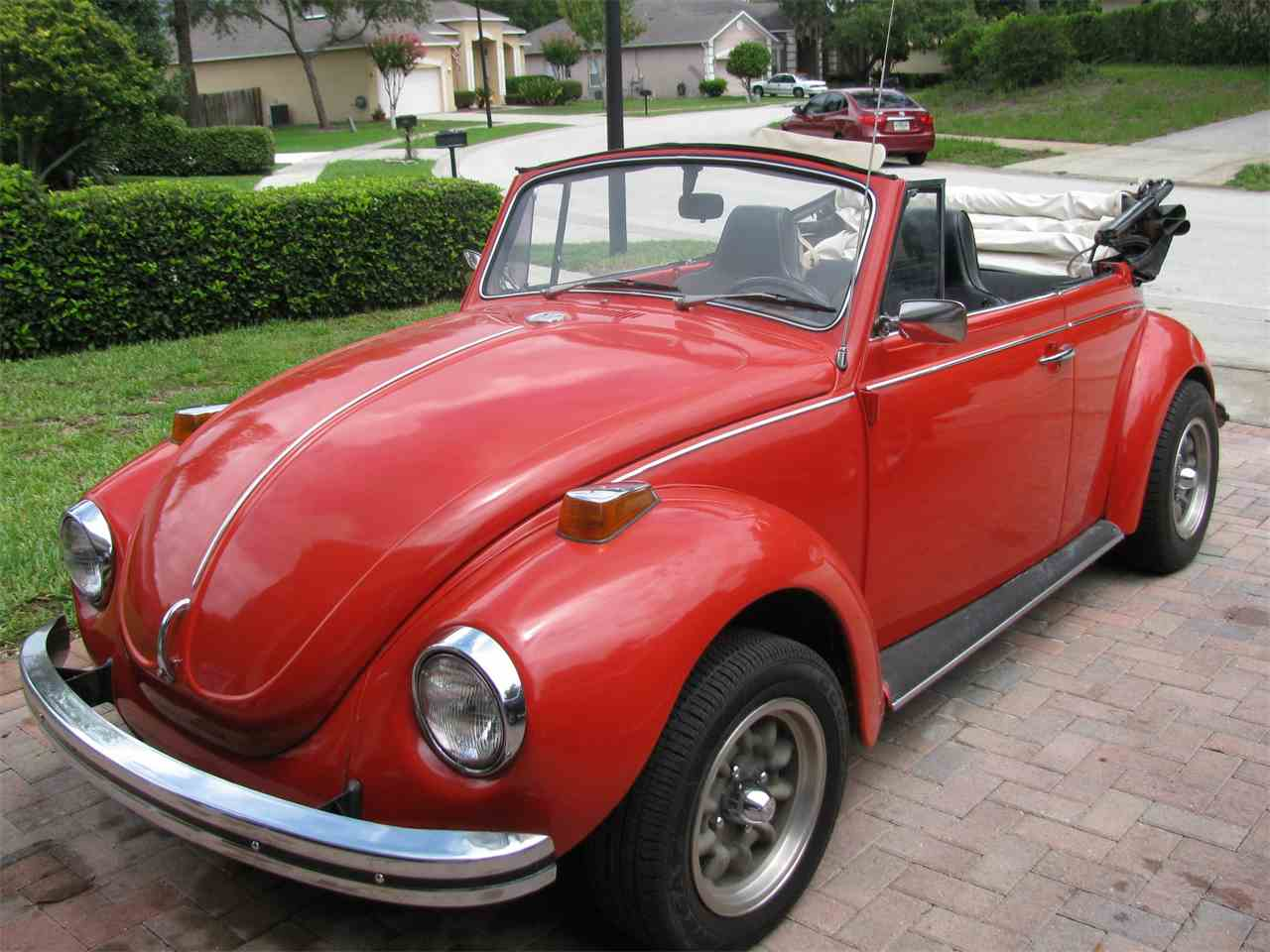 1972 volkswagen super beetle for sale cc 1003402. Black Bedroom Furniture Sets. Home Design Ideas