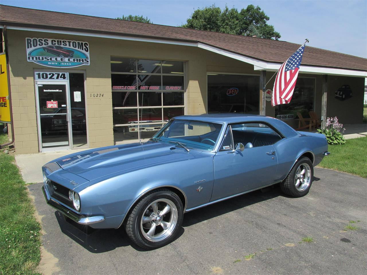 Large Picture of 1967 Camaro SS located in Goodrich Michigan Offered by Ross Custom Muscle Cars LLC - LI8Y