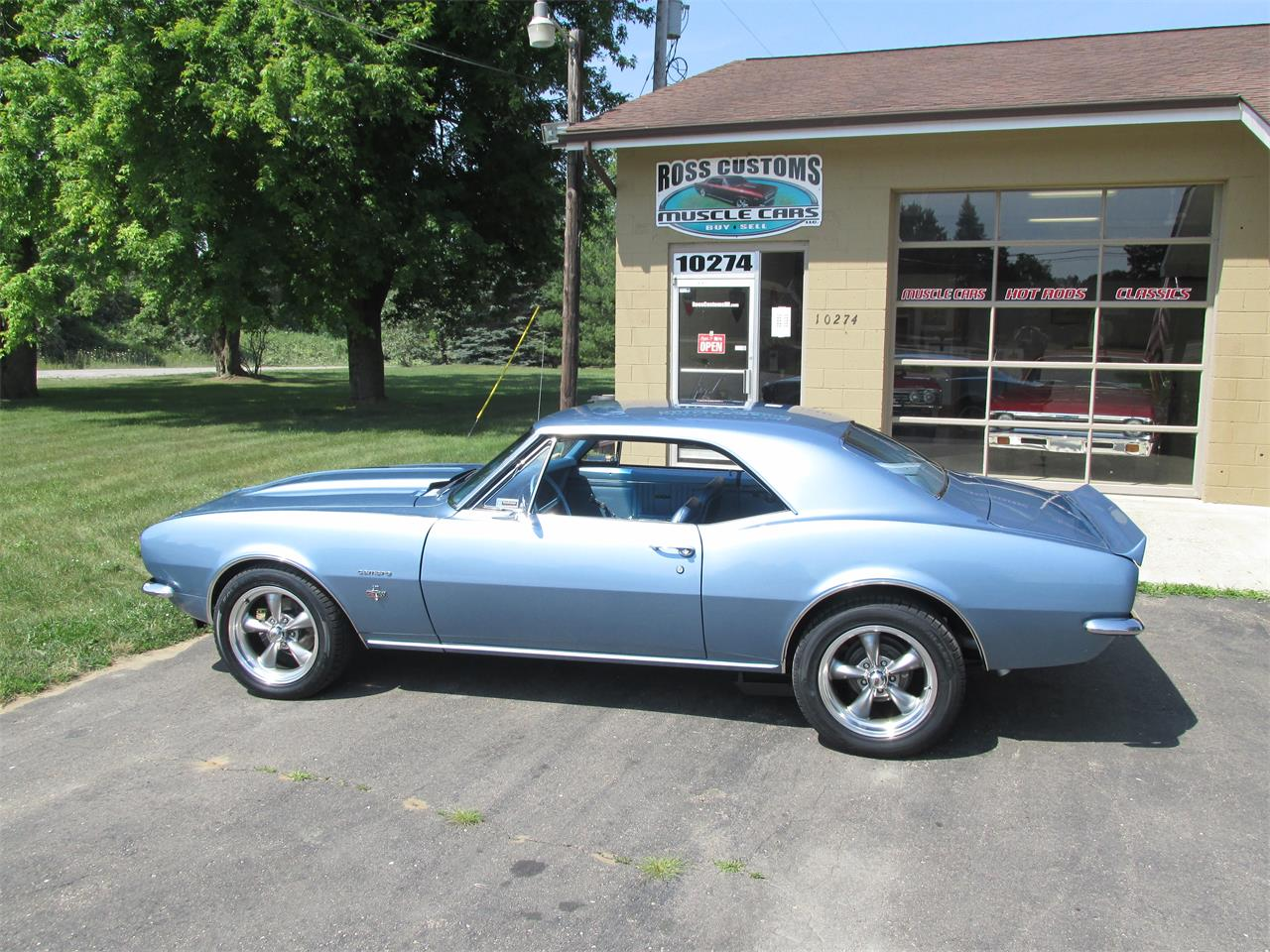 Large Picture of '67 Chevrolet Camaro SS located in Michigan Offered by Ross Custom Muscle Cars LLC - LI8Y