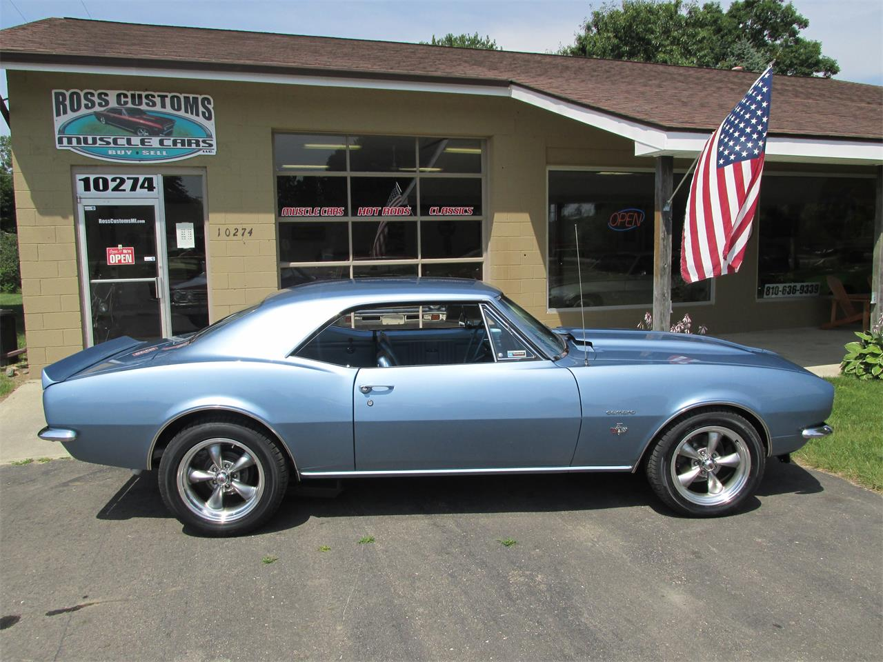 Large Picture of Classic 1967 Camaro SS located in Goodrich Michigan Offered by Ross Custom Muscle Cars LLC - LI8Y