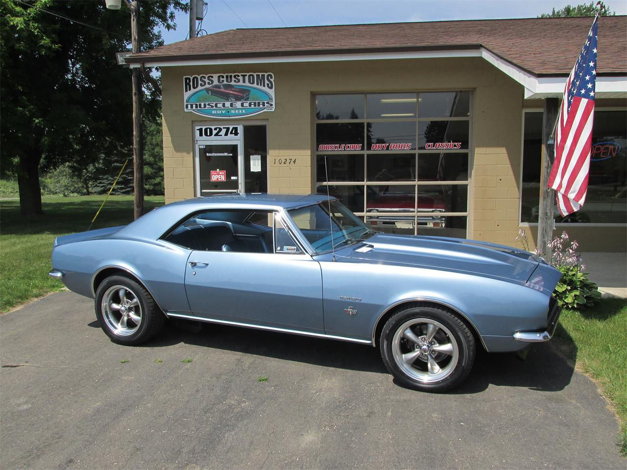 Large Picture of Classic '67 Chevrolet Camaro SS located in Goodrich Michigan - LI8Y