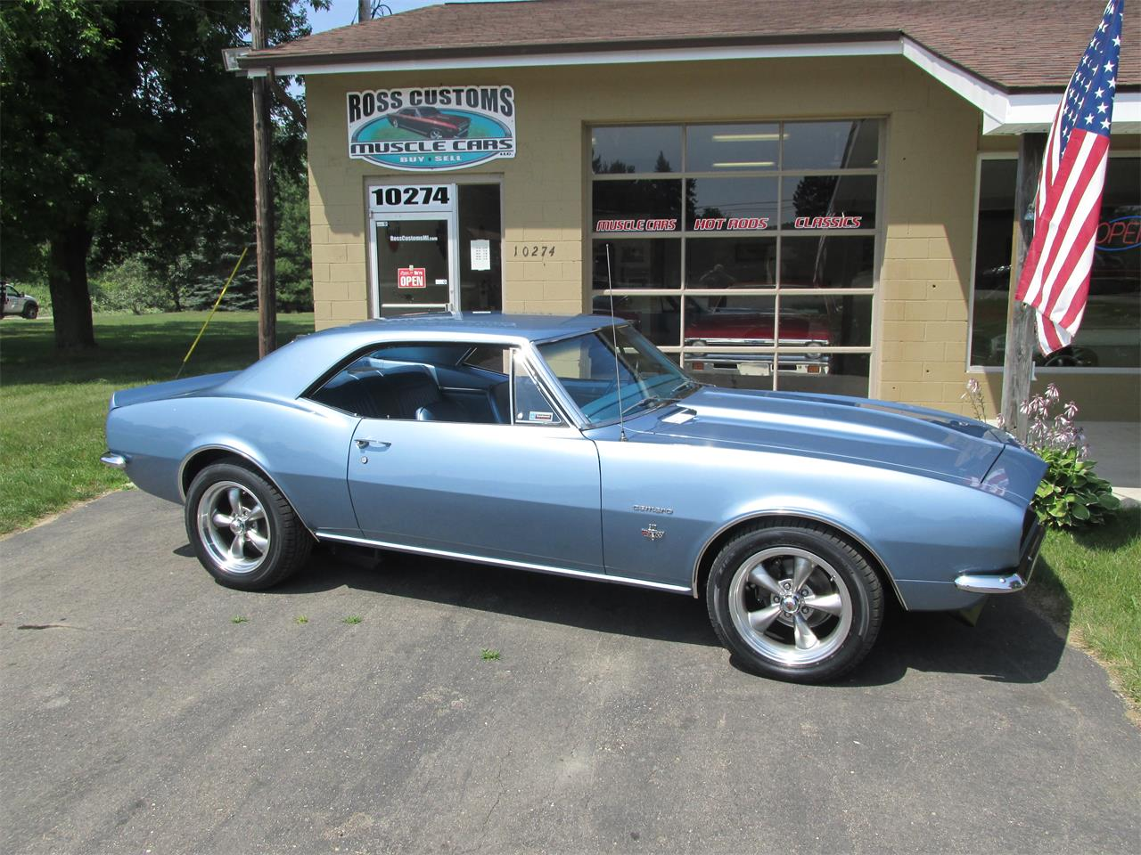 Large Picture of 1967 Camaro SS located in Michigan Offered by Ross Custom Muscle Cars LLC - LI8Y
