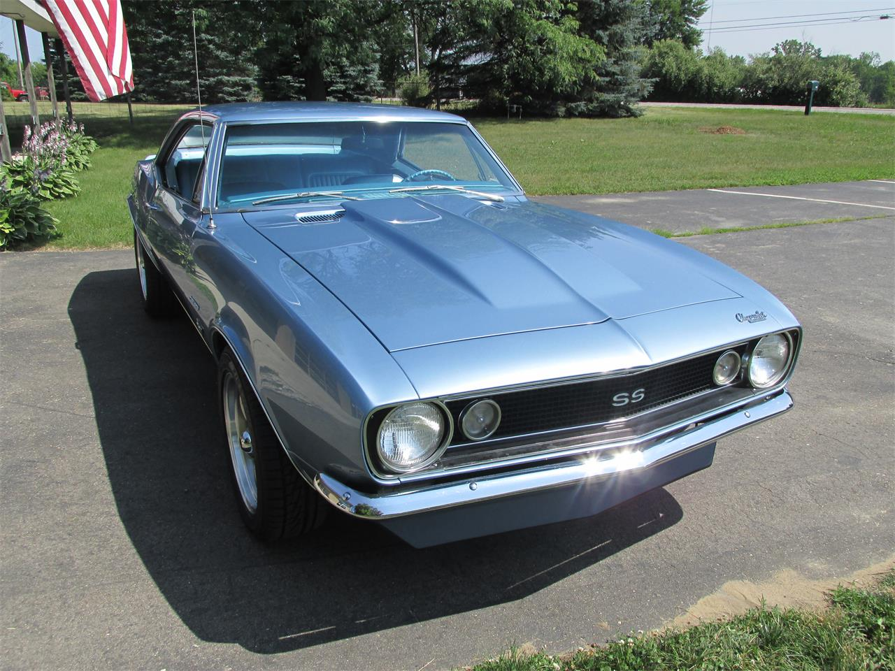 Large Picture of '67 Chevrolet Camaro SS located in Goodrich Michigan - $34,900.00 Offered by Ross Custom Muscle Cars LLC - LI8Y