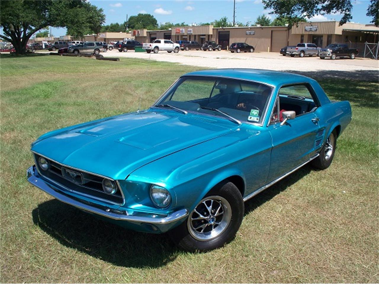 Large Picture of '67 Mustang - LFW3