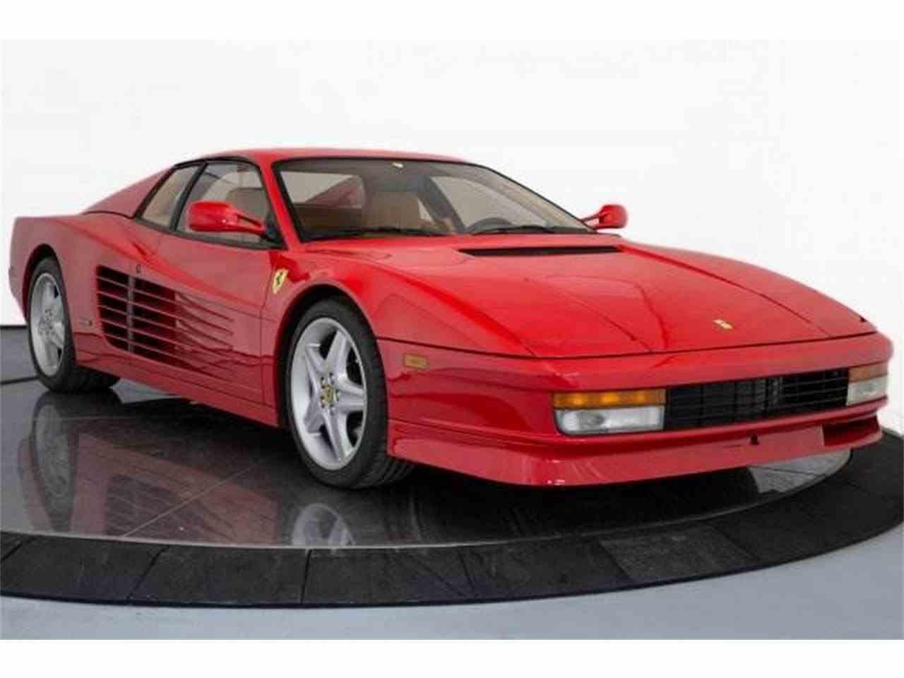 1991 Ferrari Testarossa for Sale   ClicCars.com   CC-1003755