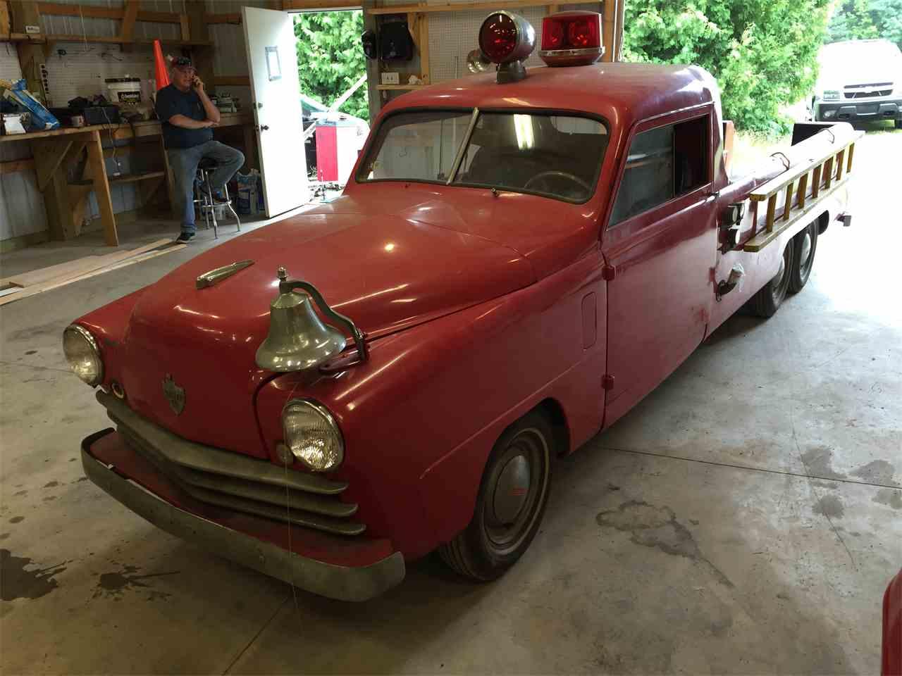 Used Cars Memphis Tn >> 1950 Crosley Fire Truck for Sale | ClassicCars.com | CC ...