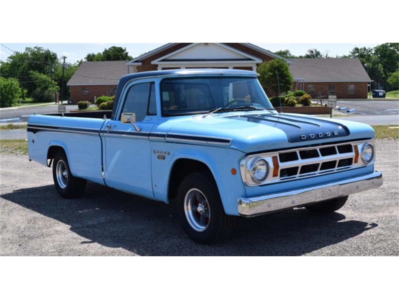 1968 Dodge D100 For Sale Cc 1003854 Camper Van Large Picture Of Classic Liku