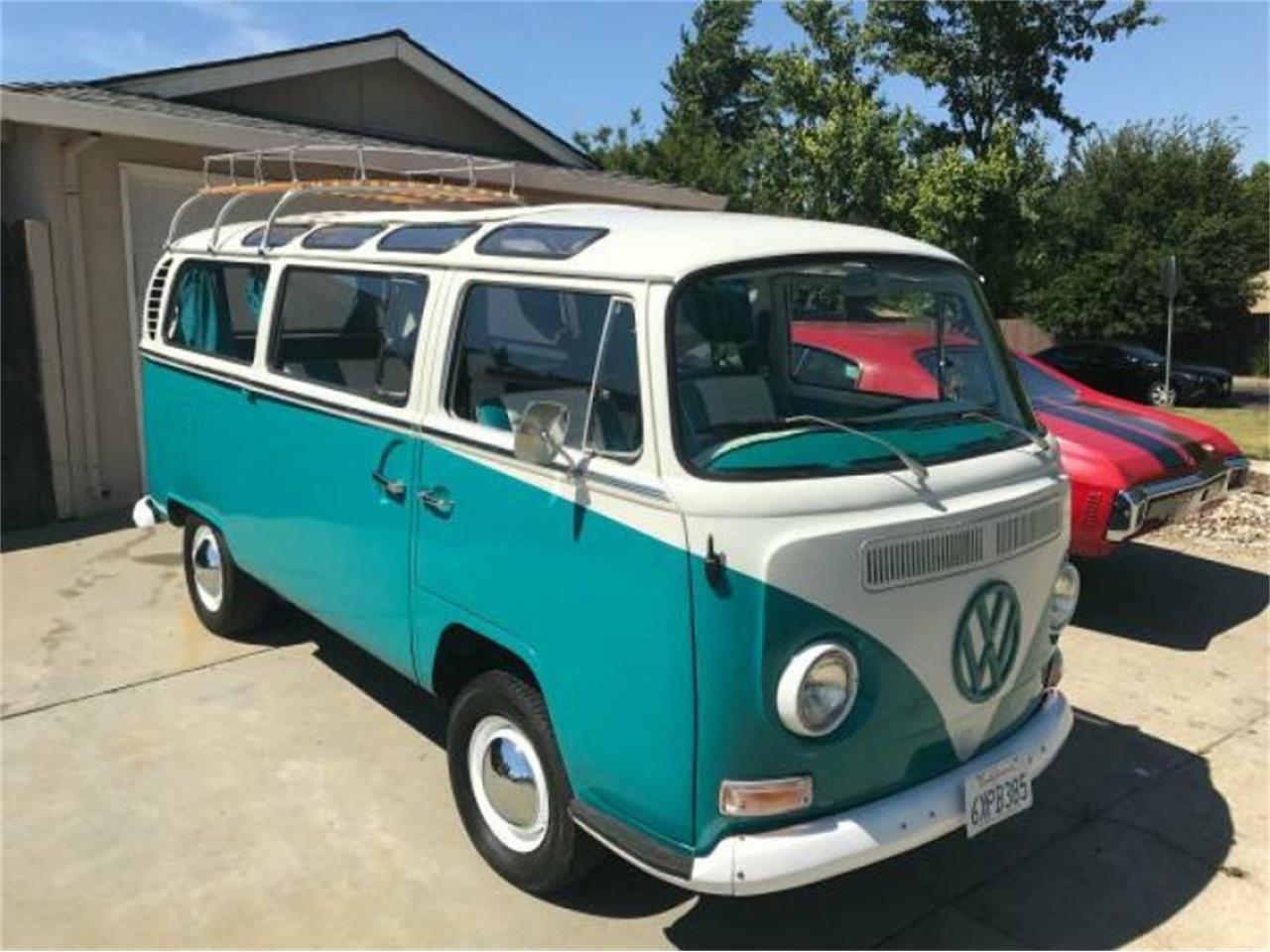 1968 volkswagen bus for sale cc 1004353. Black Bedroom Furniture Sets. Home Design Ideas