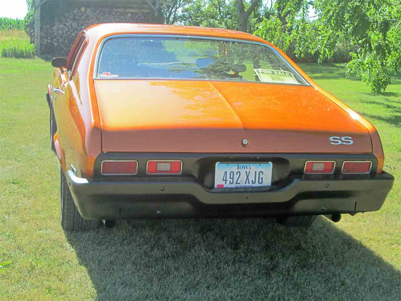 Large Picture of '73 Nova SS - LFY4