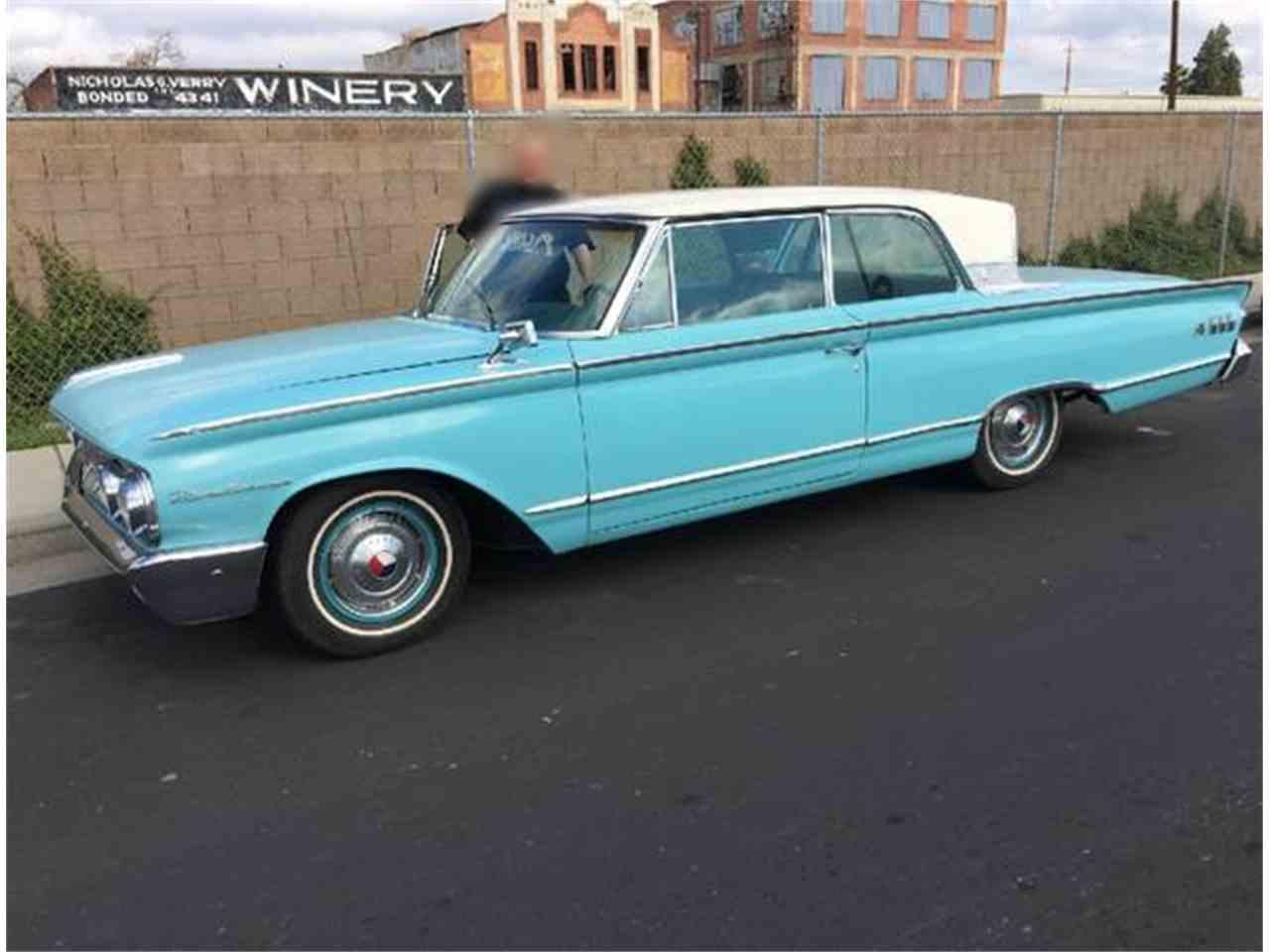 1963 mercury monterey for sale cc 1000470. Black Bedroom Furniture Sets. Home Design Ideas