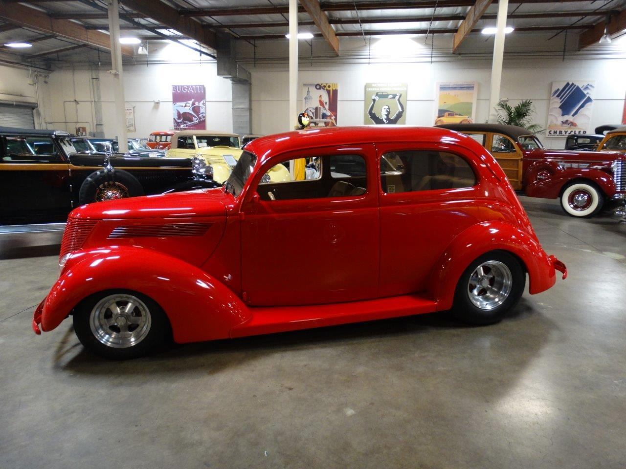 Large Picture of 1937 Ford Deluxe located in Costa Mesa California Offered by Crevier Classic Cars - LJAE