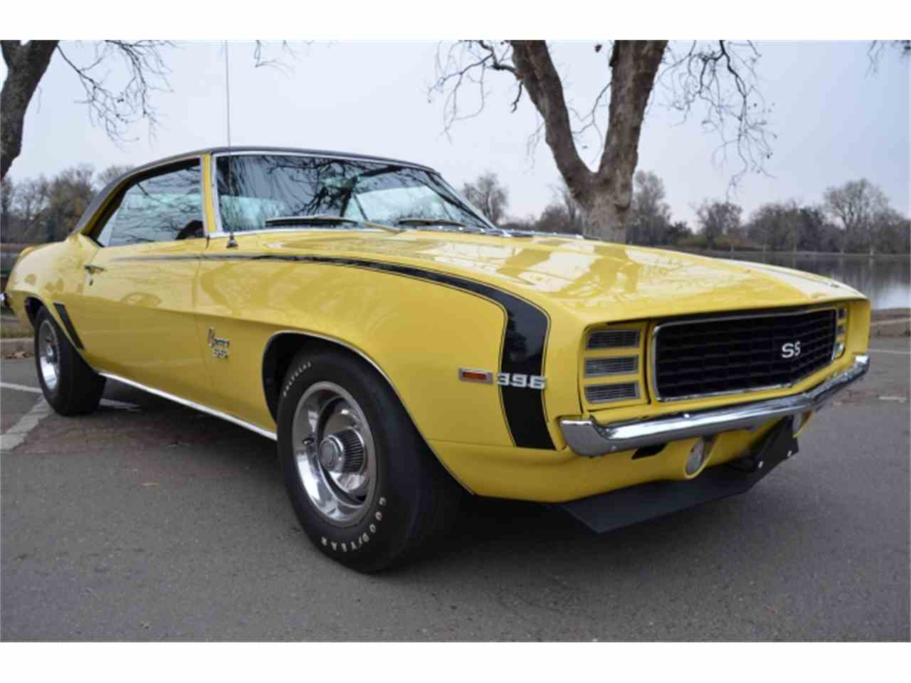1969 Chevrolet Camaro SS 396/375 HP L78 for Sale | ClassicCars.com ...