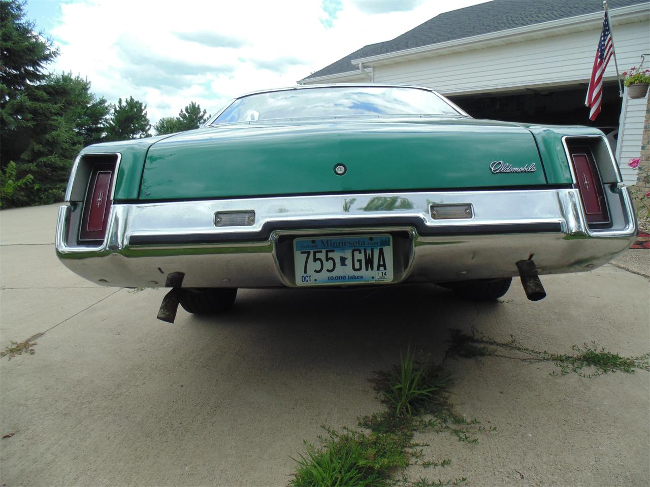 Large Picture of Classic 1973 Oldsmobile Cutlass Offered by Braaten's Auto Center - LJM7