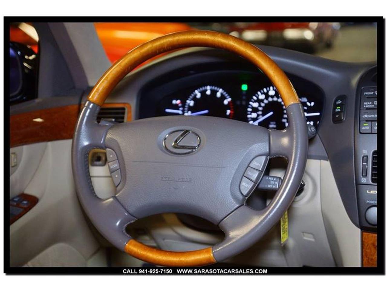 ls430 steering wheel not working