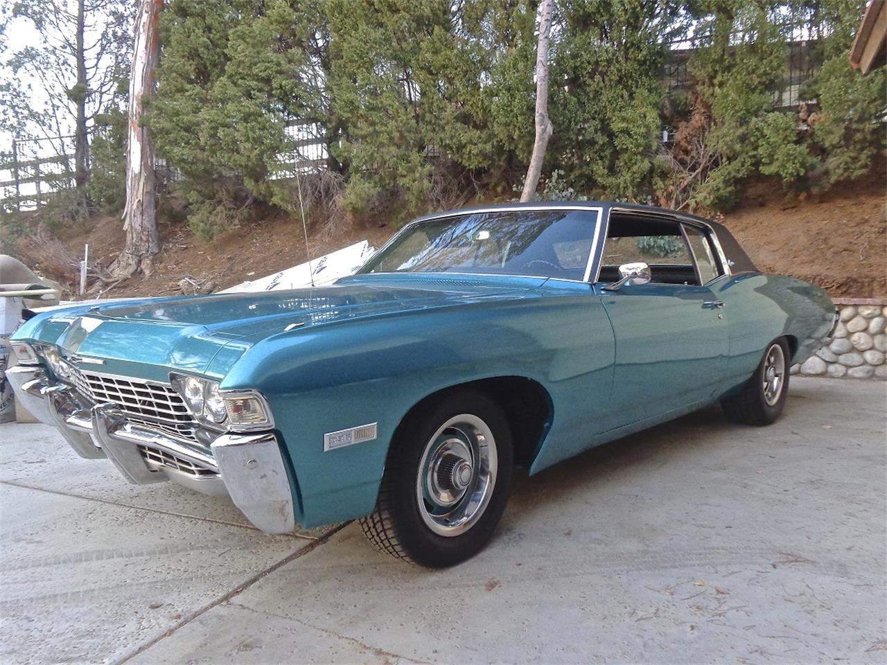 1968 Chevrolet Caprice For Sale Cc 1005486 2 Door Large Picture Of Classic Located In California 1450000 Offered By A Private Seller