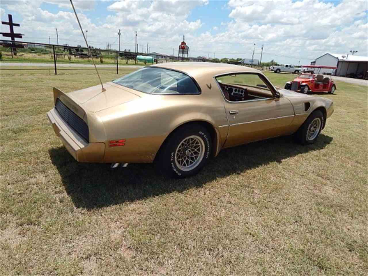 Large Picture of '79 Firebird Trans Am located in Texas Offered by Lone Star Muscle Cars - LG18