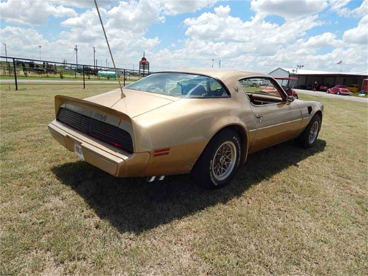 Large Picture of '79 Pontiac Firebird Trans Am located in Wichita Falls Texas Offered by Lone Star Muscle Cars - LG18