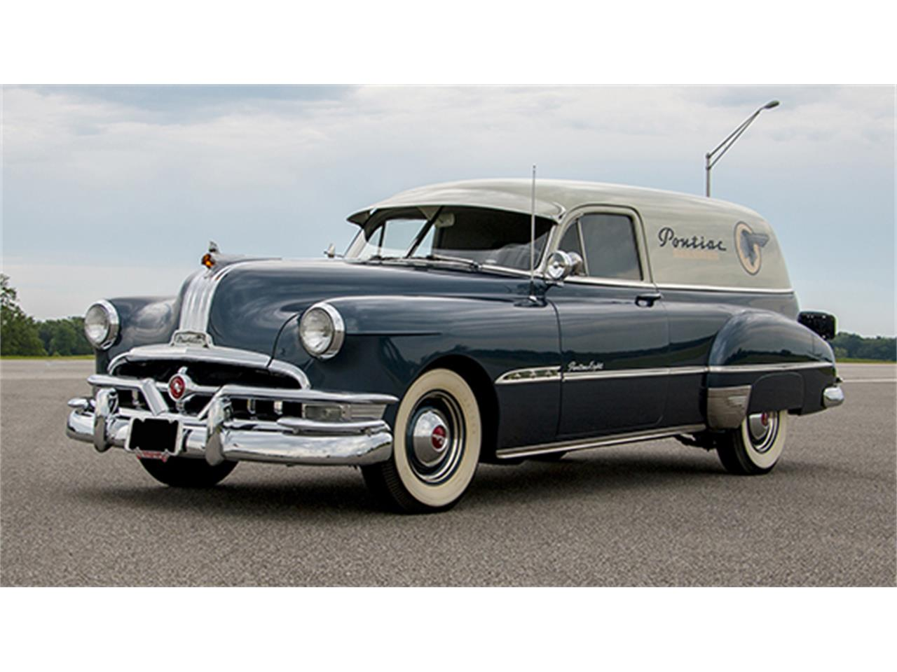 1951 Pontiac Coupe For Sale: 1951 Pontiac Eight Sedan Delivery For Sale
