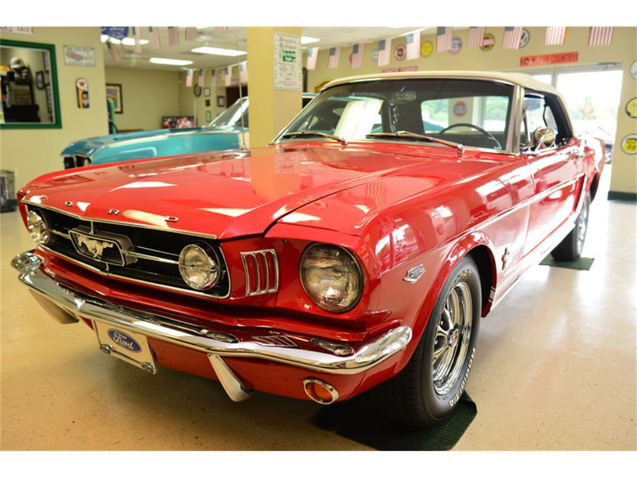 Large picture of 1965 ford mustang located in north carolina auction vehicle lg1g