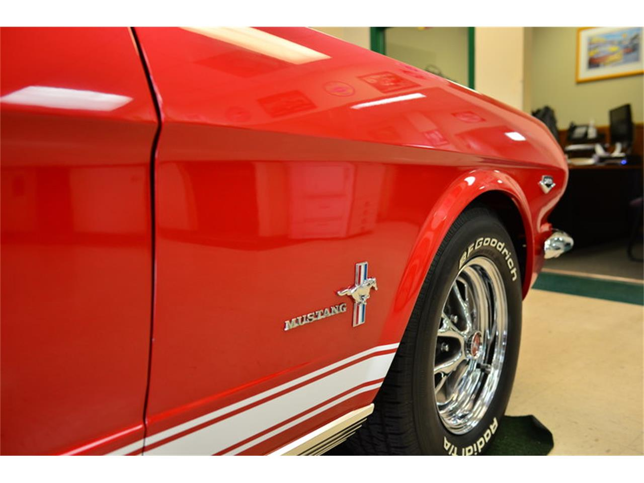 Large picture of classic 65 ford mustang located in greensboro north carolina auction vehicle offered
