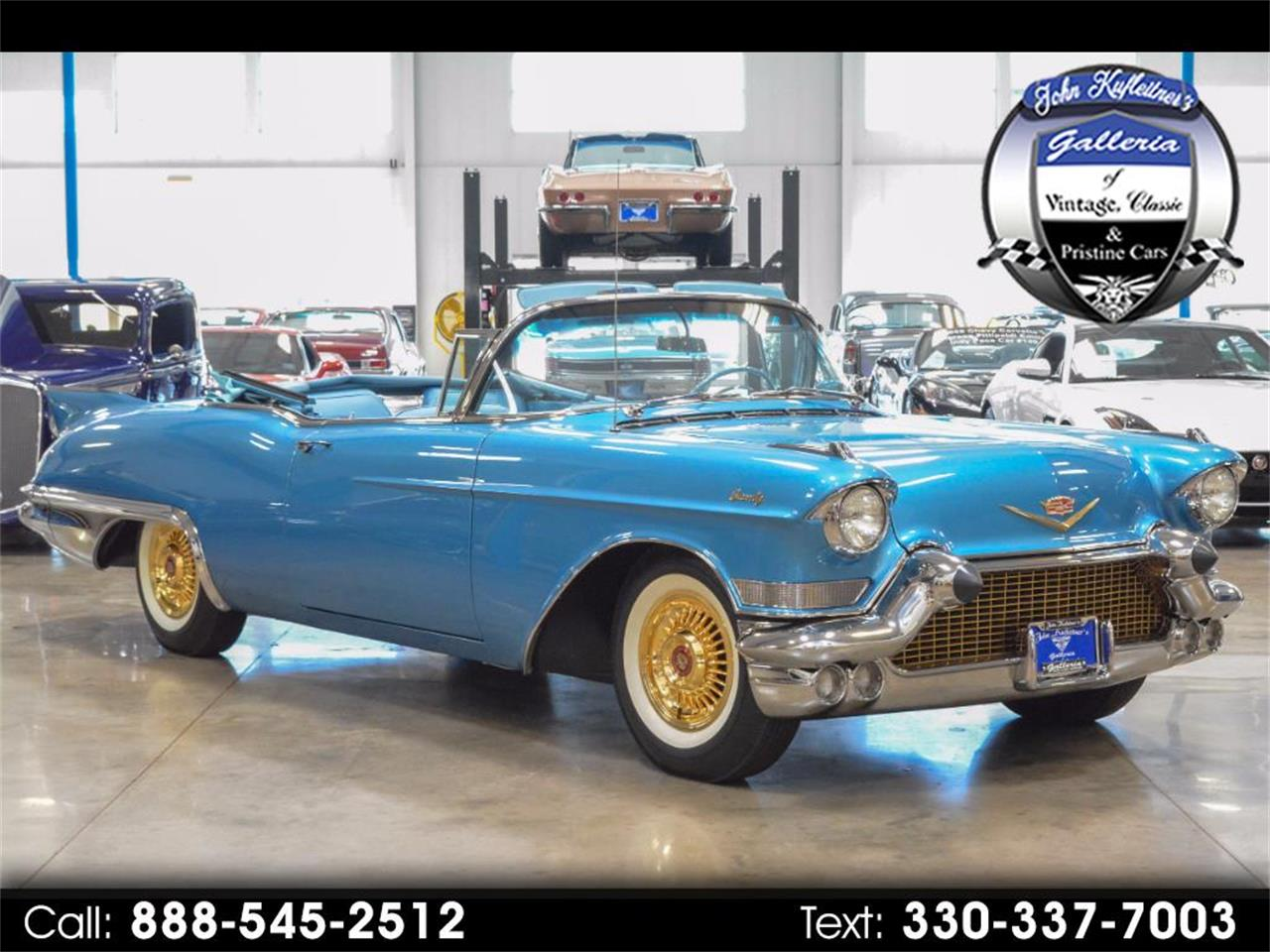 Large Picture of Classic '57 Cadillac Eldorado Auction Vehicle - LKLZ